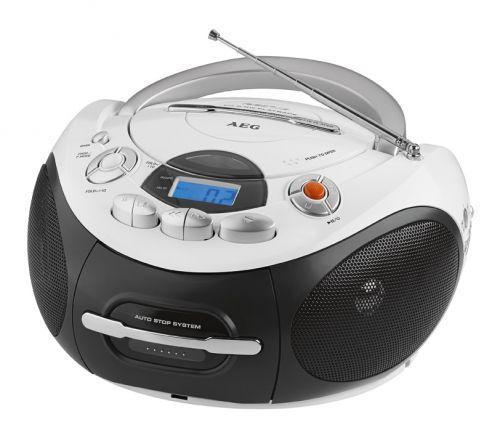 ΦΟΡΗΤΟ ΡΑΔΙΟΚΑΣΕΤΟΦΩΝΟ STEREO ΜΕ CD/MP3 AEG SR 4353 τεχνολογια  gt  ήχος  gt  φορητά cd players