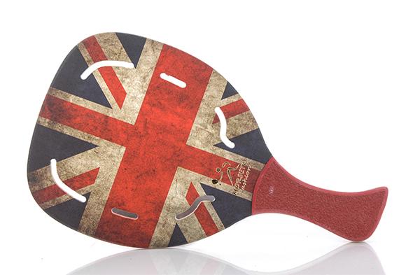 ΡΑΚΕΤΑ ΠΑΡΑΛΙΑΣ MORSETO FASHION ENGLAND FLAG HOLES χομπυ   αθλητισμος  gt  αθλητισμός  gt  ρακέτες  gt  ρακέτες morseto  gt  ρακέτε