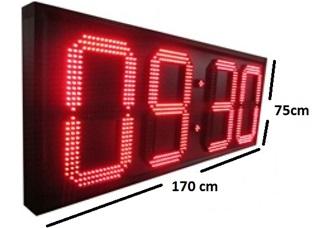 ΗΛΕΚΤΡΟΝΙΚΗ ΦΩΤΙΖΟΜΕΝΗ ΠΙΝΑΚΙΔΑ LED ΔΙΑΣΤΑΣΕΩΝ 170 x 75 cm