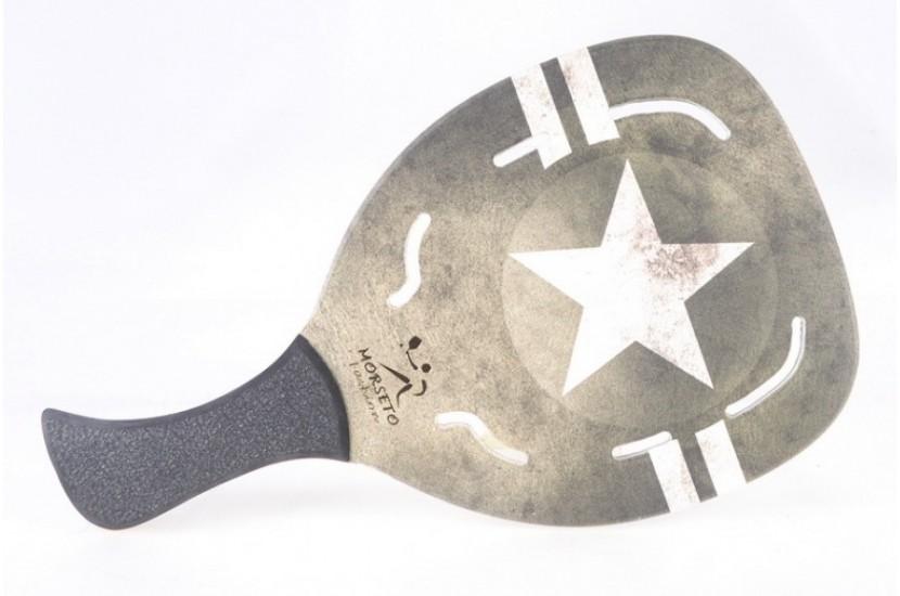 ΡΑΚΕΤΑ ΠΑΡΑΛΙΑΣ MORSETO FASHION ARMY STAR HOLES χομπυ   αθλητισμος  gt  αθλητισμός  gt  ρακέτες  gt  ρακέτες morseto  gt  ρακέτε