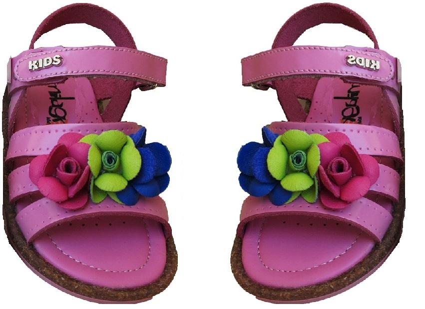 ΠΑΙΔΙΚΟ ΑΝΑΤΟΜΙΚΟ ΔΕΡΜΑΤΙΝΟ ΠΕΔΙΛΟ MILAGROS ΡΟΖ fashion  gt  παιδί  gt  ανατομικά παπούτσια