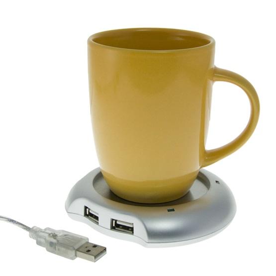 ΒΑΣΗ ΓΙΑ ΖΕΣΤΟ ΚΑΦΕ – ΡΟΦΗΜΑ -WARMER CUP USB 4 ΘΕΣΕΩΝ ΟΕΜ