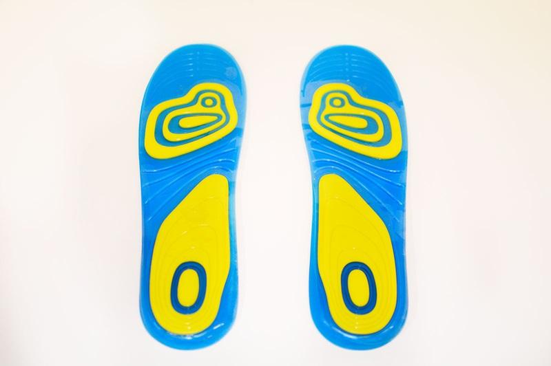 Πάτοι σιλικόνης ανατομικοί - αντικραδασμικοί παπουτσιών για ξεκούραστο βάδισμα με αντιβακτηριδιακή προστασία - πόδια χωρίς οσμές OEM