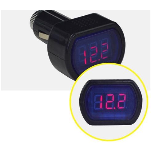 Βολτόμετρο αυτοκινήτου LED ψηφιακό 12-24V ΟΕΜ auto   moto  gt  αξεσουάρ οχημάτων  gt  αξεσουάρ αυτοκινήτου