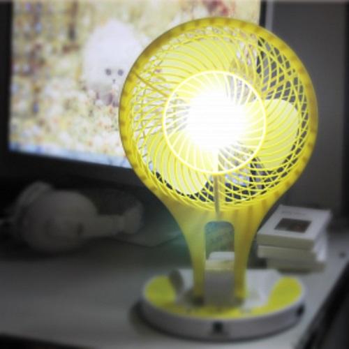 Φορητός μίνι ανεμιστήρας με φως 21 LED OEM