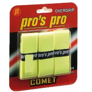 Pros Pro Comet Grip 3-pack yellow overgrip χομπυ   αθλητισμος  gt  αθλητισμός  gt  ρακέτες  gt  ρακέτες διάφορα
