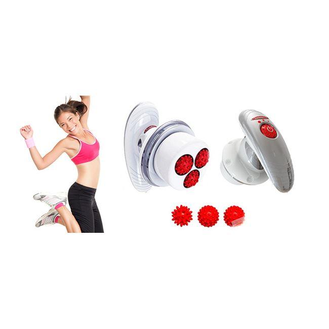 Επαναστατική Συσκευή Μασάζ Τόνωσης, Αδυνατίσματος και Εκγύμνασης Σώματος Tonific Body Massager με Acu–Spheres OEM