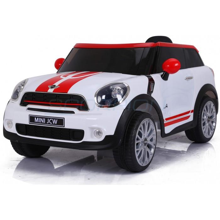 Παιδικο Αυτοκινητο Ηλεκτροκίνητο 12V Scorpion Mini Cooper 5246058 WHT χομπυ   αθλητισμος  gt  παιδικά ηλεκτροκίνητα  gt  ηλεκτροκίνητα παιδικά αυτοκίν