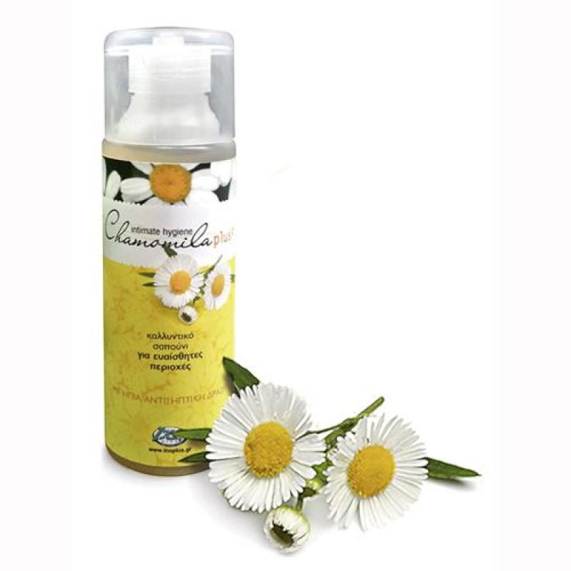 Chamomila Plus για την Ευαίσθητη Περιοχή 250 ml Inoplus – Καλλυντικό Υγρό Σαπούνι