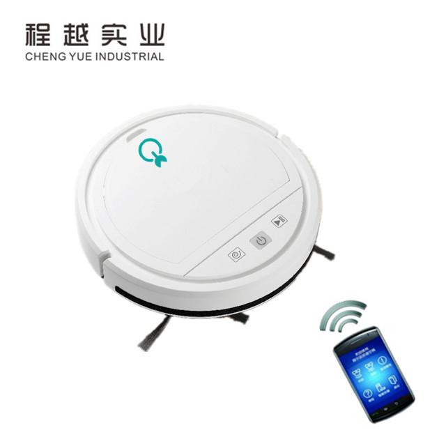 CleverClean™ – Η Έξυπνη Wifi Σκούπα Ρομπότ 3 σε 1 – Έλεγχος από κινητό μέσω Wifi- ΕΛΛΗΝΙΚΟ Μενού στην Εφαρμογή – Αυτόνομη – Δυνατή Απορρόφηση 1000PA -11 Watt – Με αισθητήρες – Ως 150 τετραγωνικά – Επαναφορτιζόμενη & Πανί Μικροϊνών.